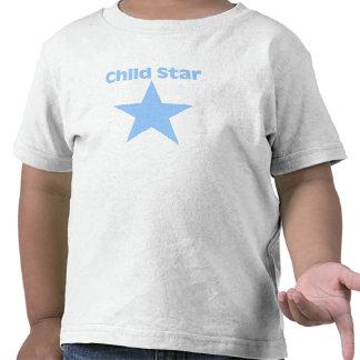 Camiseta de la estrella infantil