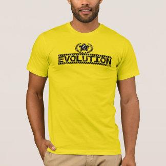 camiseta de la evolución