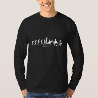 Camiseta de la evolución de Bodysurfer Playera