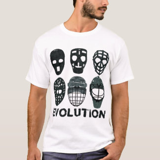 Camiseta de la evolución de la máscara del portero