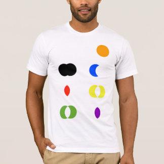 Camiseta de la exclusión de la intersección de la