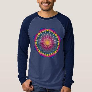 Camiseta de la explosión de la estrella polera