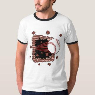Camiseta de la explosión del béisbol playeras