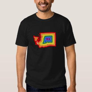 Camiseta de la explosión del orgullo de Washington Poleras