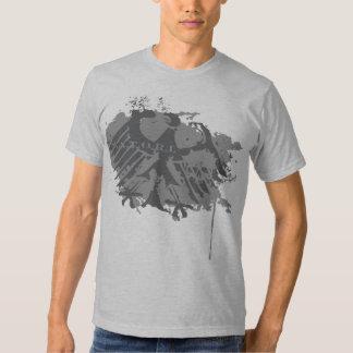 Camiseta de la falta de definición de Satori los Poleras