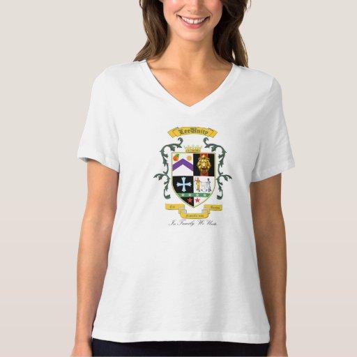 Camiseta de la familia de Lee Playeras