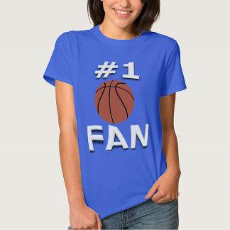 Camiseta de la fan de baloncesto #1 remeras