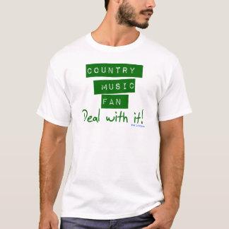 Camiseta de la fan de música country