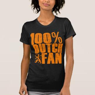 Camiseta de la fan del holandés del 100% polera