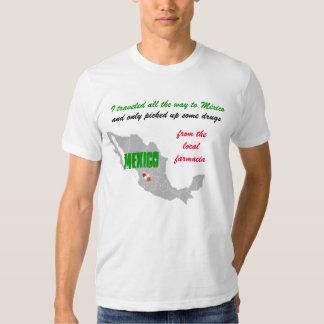 Camiseta de la farmacia de México Camisas
