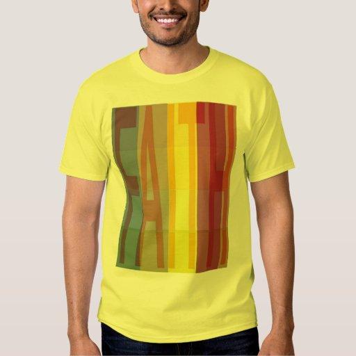 Camiseta de la fe remeras