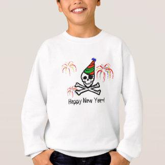 Camiseta de la Feliz Año Nuevo del pirata