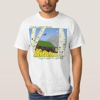 Camiseta de la fiebre de la cabina