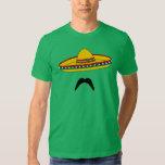 Camiseta de la fiesta de Cinco de Mayo del bigote Camisas
