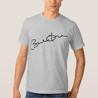 Camiseta de la firma de Barack Obama Playeras