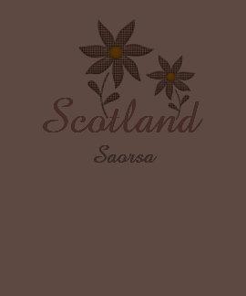 Camiseta de la flor del tartán de la libertad de S