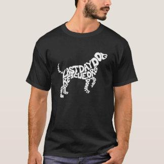 Camiseta de la forma del perrito de LDDR (perro