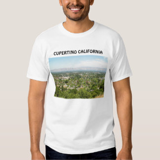 Camiseta de la foto de Cupertino California Camisas