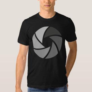 Camiseta de la fotografía de la abertura playeras