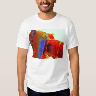 Camiseta de la fotografía del amor playeras