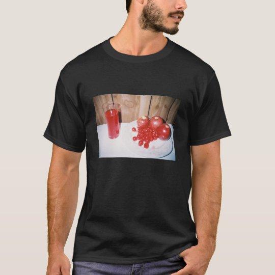 Camiseta de la frambuesa de la cereza de Apple