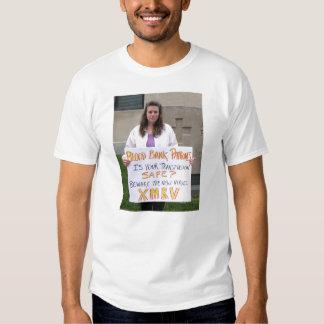camiseta de la fuente de sangre del rivka poleras