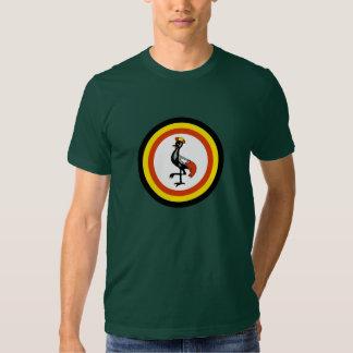 Camiseta de la fuerza aérea del Ugandan Remera