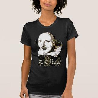 Camiseta de la fuerza de voluntad de William Remera
