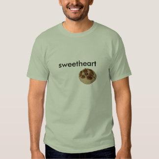 camiseta de la galleta, amor camisas