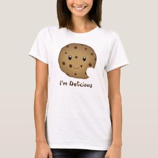 Camiseta de la galleta del chocolate