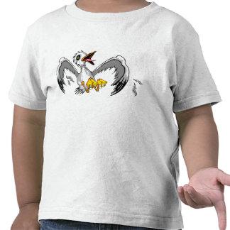 Camiseta de la gaviota del niño