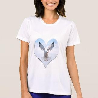Camiseta de la gaviota en vuelo