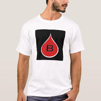 Camiseta de la gota de sangre de la costa este