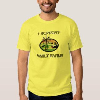 Camiseta de la granja de la familia remera