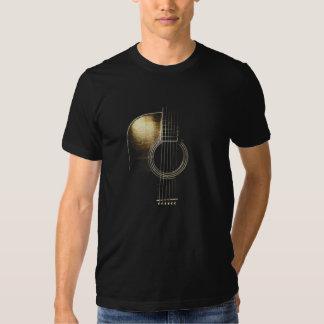 Camiseta de la guitarra acústica (vea por favor la playeras