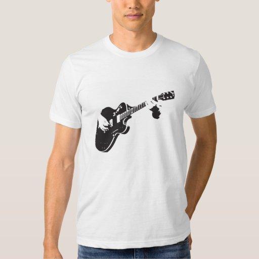 Camiseta de la guitarra playeras