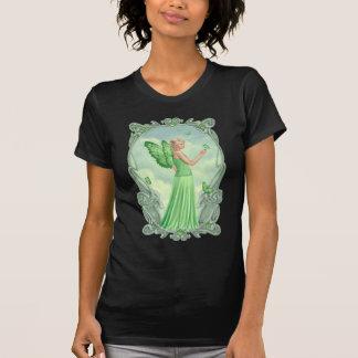 Camiseta de la hada del Peridot de Birthstones Playera