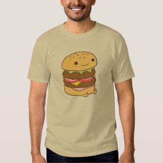 camiseta de la hamburguesa polera