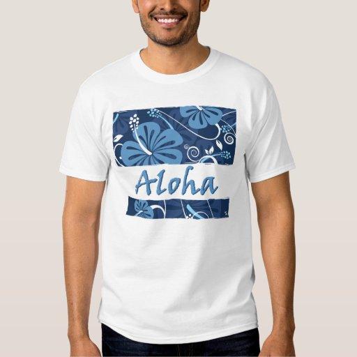 CAMISETA de la hawaiana de Hawaii Polera