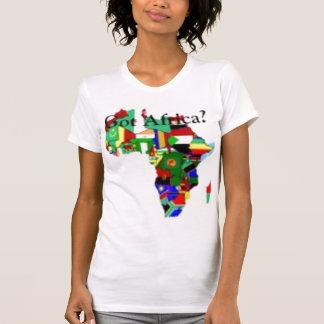 CAMISETA DE LA HEMBRA DE LIBERIA/DE ÁFRICA