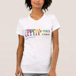 Camiseta de la hembra de Upptiy
