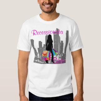 Camiseta de la hermana de Recessionista Camisas