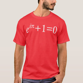 Camiseta de la identidad de Euler