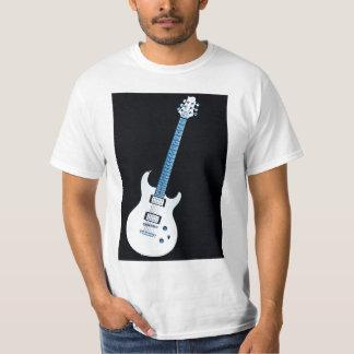 Camiseta de la imagen de la guitarra