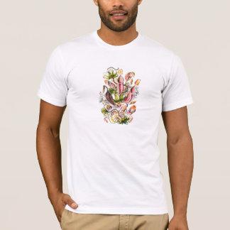 Camiseta de la impresión de la planta carnívora