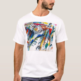 Camiseta de la improvisación 28 de Kandinsky