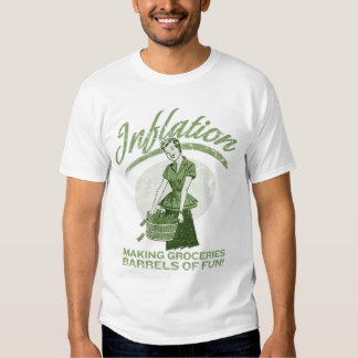 Camiseta de la inflación poleras