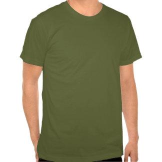 camiseta de la insignia del bushcraft