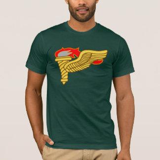 Camiseta de la insignia del pionero