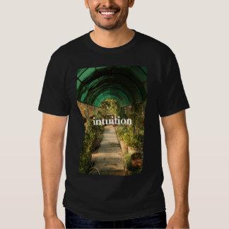 camiseta de la intuición remeras